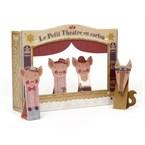 Théâtre et marionnettes carton - trois p