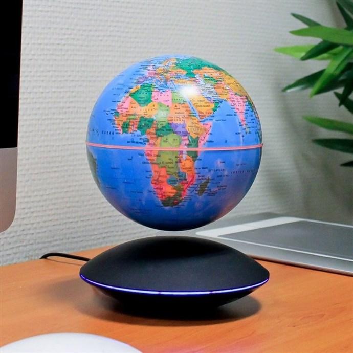 globe g opolitique lumineux grand mod le nature d couvertes. Black Bedroom Furniture Sets. Home Design Ideas