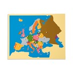 Carte puzzle europe