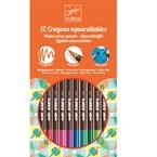 Crayons aquarellables classiques