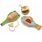Set 3 percussions-instrument de musique