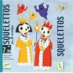 Jeu cartes 7-99y squelettos djeco