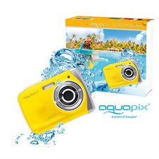 Appareil photo aquapix 'splash' yellow