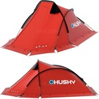 Tente husky flame 2 personnes rouge