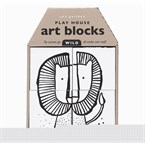 Play house - art blocks wild - wee galle