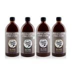 4 savons noir ménager à l'huile d'olive