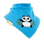 Bavoir bandana funky giraffe blue panda