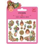 Mini stickers pailleté +6y motifs indien