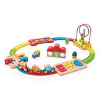 Jeu enfant circuit de train musical puzz