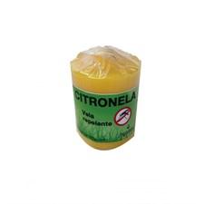 Bougie à la citronnelle anti moustiques