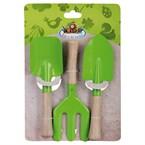 Set outils jardin verts