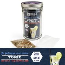 Bocal tonic aux agrumes bio