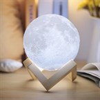 Moovymoon lampe à poser led nomade lune