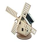 Moulin solaire bois à construire