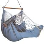 Chaise hamac longue gris