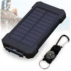 Batterie solaire double usb 10 000mah