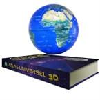 Geolite - globe terrestre en lévitation