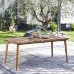 Table de jardin en teck 6 à 8 places