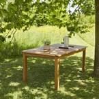 Table de jardin acacia 8 à 10 places