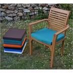 Coussin vert pour fauteuils samoa lombok