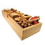 Le coffret en bois 12 casse-tête