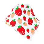 Bavoir bandana funky giraffe strawberry