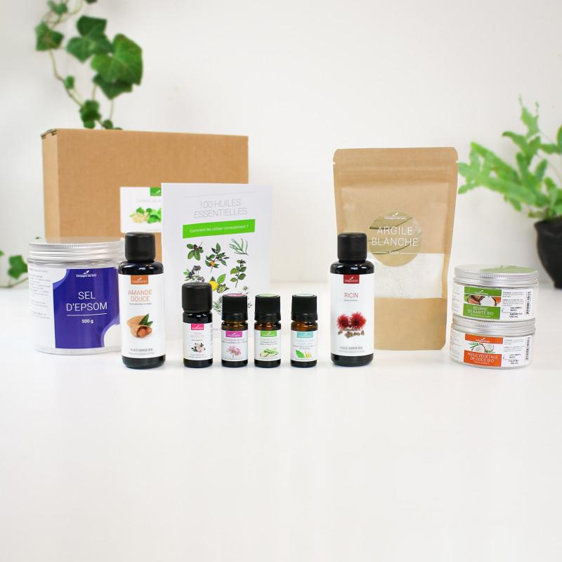 La box ingrédients cosmétiques