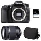 Canon eos 80d + tamron 18-270 vc pzd + s