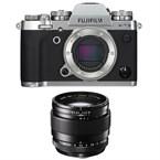 Fujifilm x-t3 silver + 23 mm f1.4