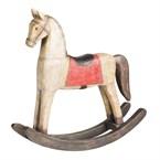 Cheval à bascule décoration table