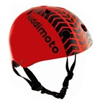 Kiddimoto - casque enfant red tyre
