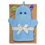 Gant de bain 'marionnette' hippo