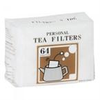 Pack de 64 sachets à thé avec ficelle