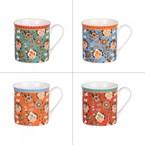 Coffret de 4 mugs 35 cl barok