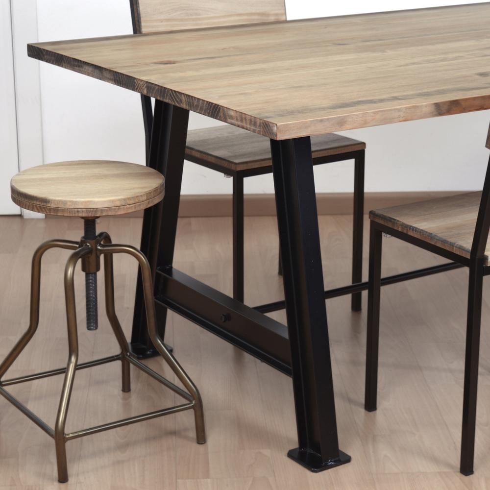 Table À Manger Industrielle table salle à manger - industriel | nature & découvertes