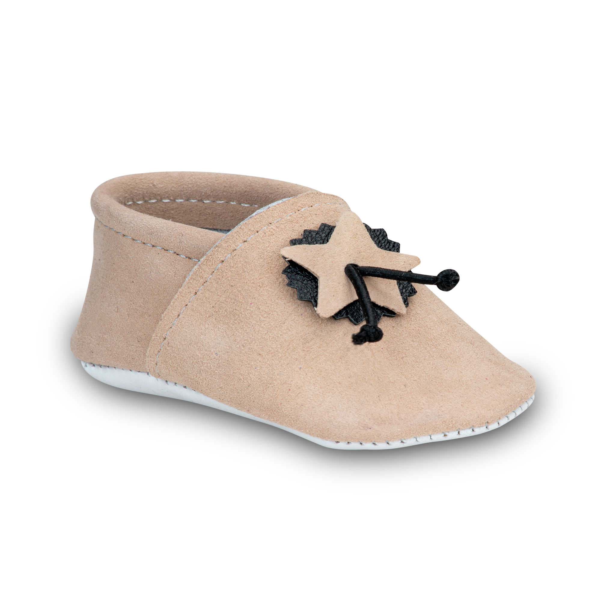 Chaussons Souples Bebe Creme Taille 16