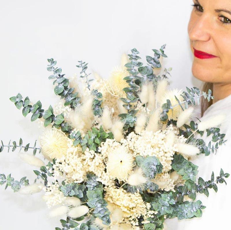 Bouquet De Fleurs Sechees Mariage Nature Decouvertes