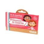 Kit de maquillage 3 couleurs princesse e