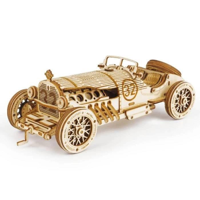 Maquette 3d - voiture grand prix