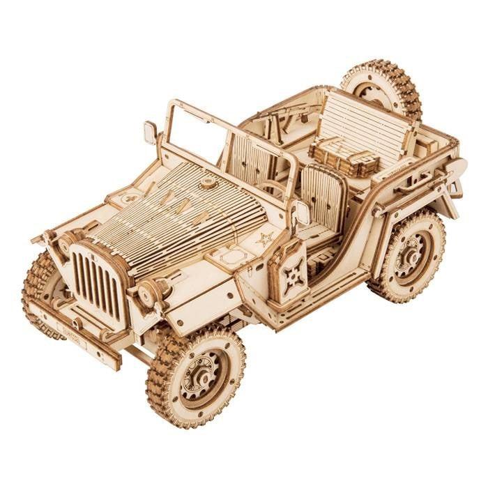 Maquette 3d - voiture jeep