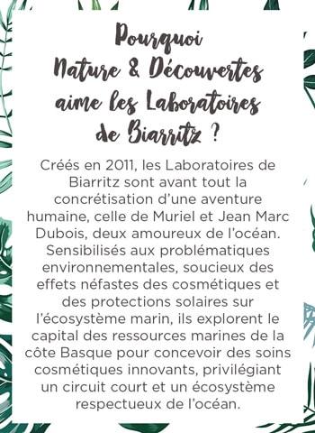 N&D aime les laboratoires de Biarritz