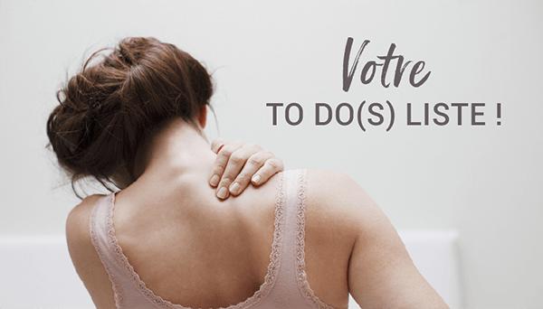 Votre to Do(s) liste!